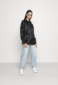 Nike Sportswear - SUMMERIZED - Summer jacket - black/white - 1