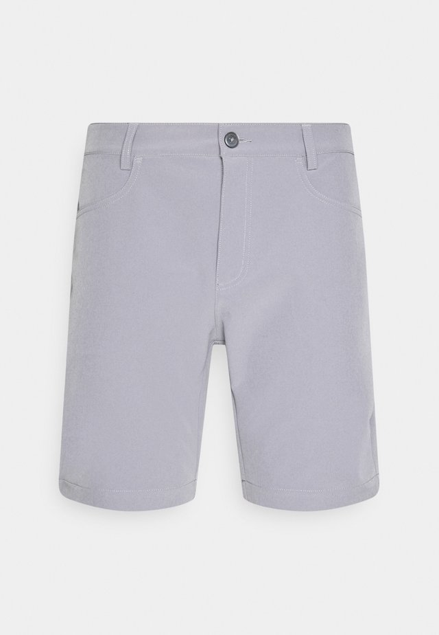 GENIUS TROUSERS - Short de sport - silver