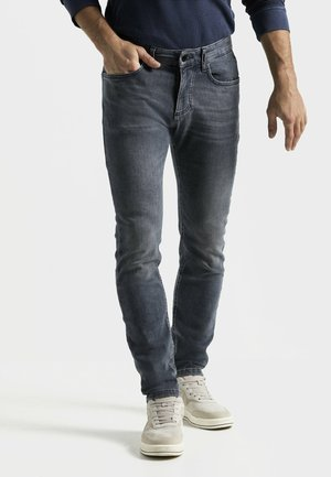 Slim fit jeans - light grey used