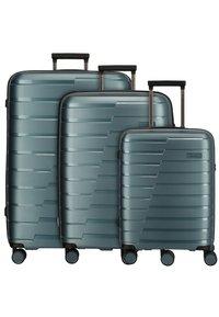 Travelite - SET - Wheeled suitcase - teal - 1