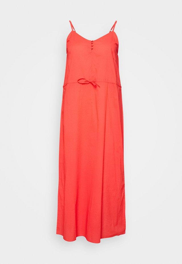 CARFLOWER LIFE DRESS SOLID - Korte jurk - cayenne
