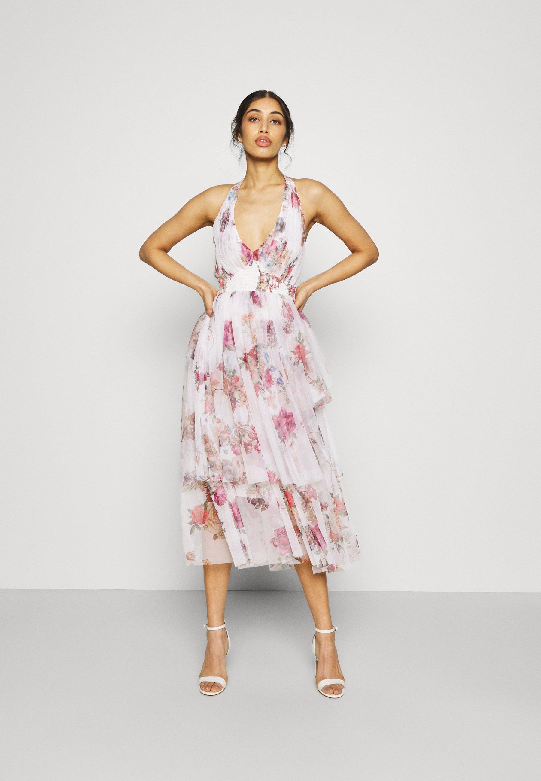 Women RIA MIDI - Cocktail dress / Party dress - nude