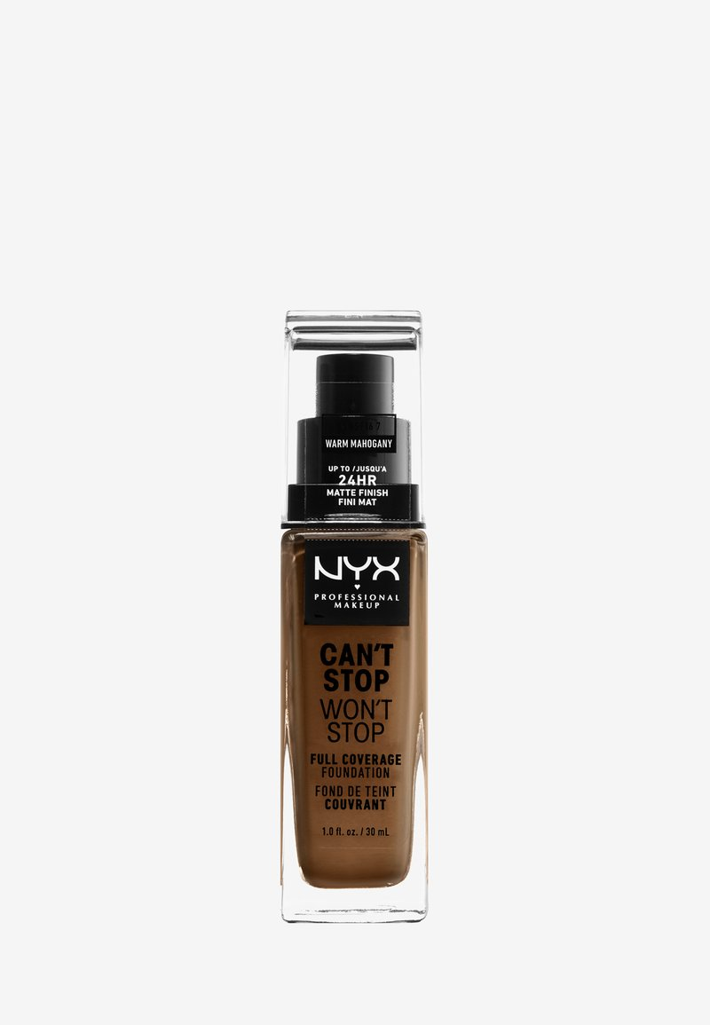 Nyx Professional Makeup - CAN'T STOP WON'T STOP FOUNDATION - Foundation - 16.7 warm mahogany