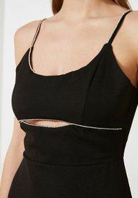 Trendyol - PARENT - Maxi dress - black - 4