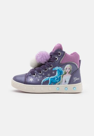 DISNEY FROZEN ELSA JUNIOR SKYLIN GIRL - Sneaker high - purple/mauve