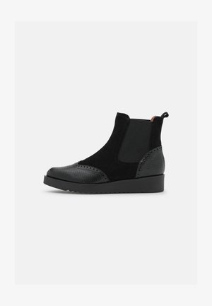Støvletter - asia black/black