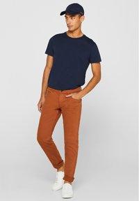 edc by Esprit - Slim fit jeans - rust brown - 1