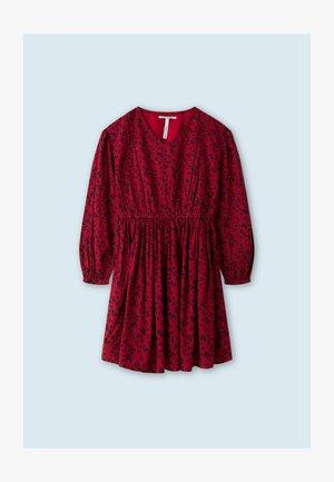 MILENA - Day dress - red
