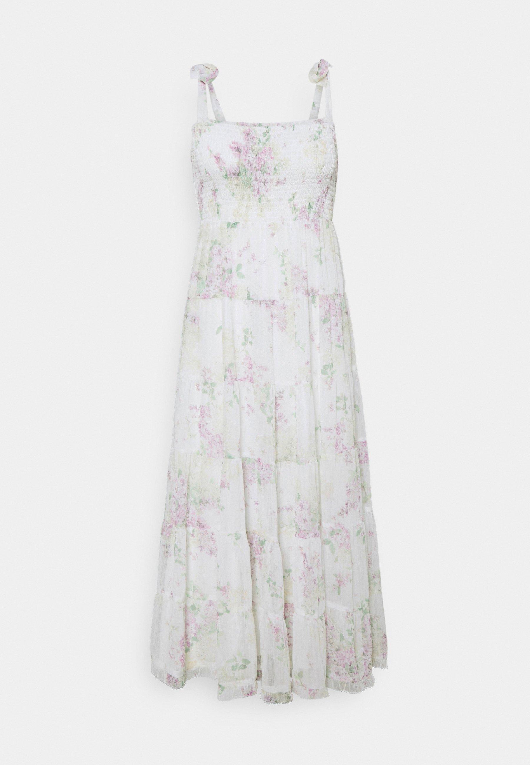 Women CHARLOTTE TIERED MIDI DRESS - Day dress