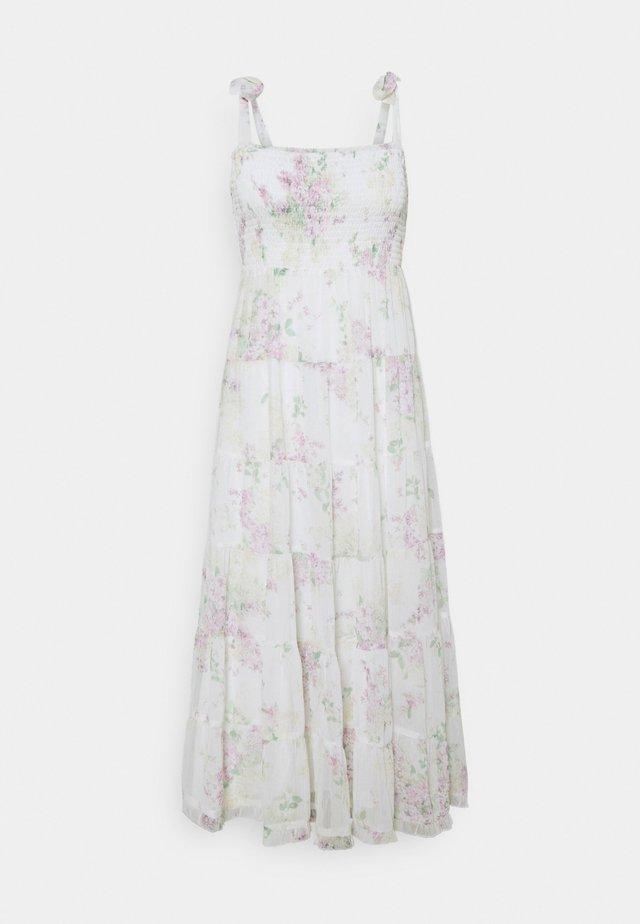 CHARLOTTE TIERED MIDI DRESS - Sukienka letnia - soft botanics