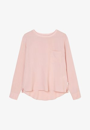 Long sleeved top - faded pink