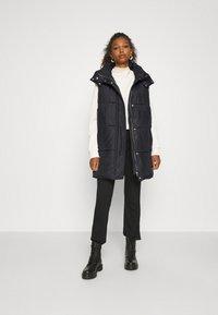 ONLY - ONLDEMY PADDED VEST - Waistcoat - black - 1