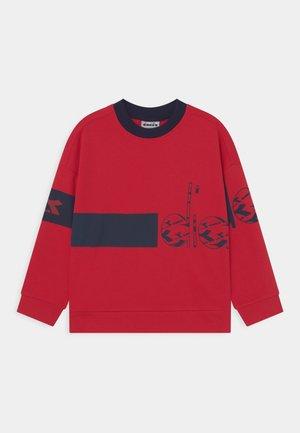 CREW HOOPLA UNISEX - Sweatshirt - tango red