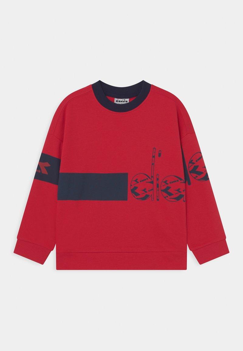 Diadora - CREW HOOPLA UNISEX - Sweater - tango red