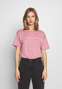 American Eagle - BRANDED SANTA MONICA TEE - Print T-shirt - lively lilac - 0