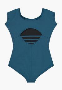 Capezio - BALLET CAP SLEEVE - trikot na gymnastiku - indigo - 1