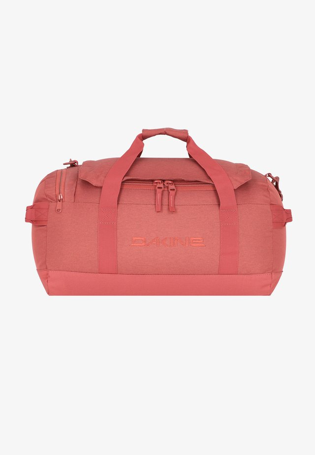 EQ DUFFLE  - Weekend bag - dark rose