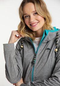 Schmuddelwedda - Outdoor jacket - gray melange - 3