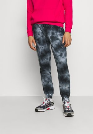 UNISEX TIE DYE JOGGER - Trainingsbroek - mottled black