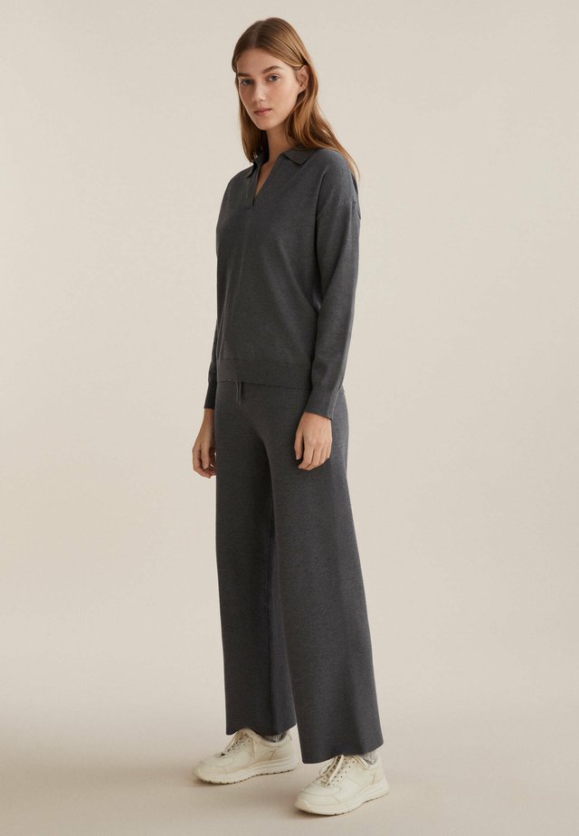 Sweter - dark grey