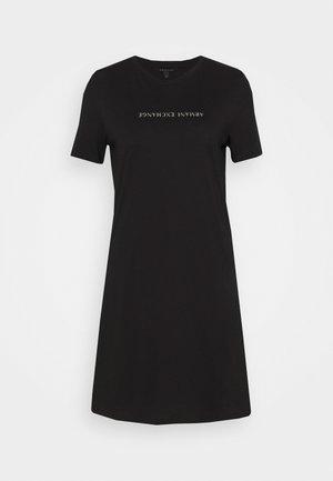 VESTITO - Žerzejové šaty - black
