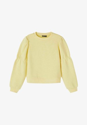 Sweatshirt - mellow yellow
