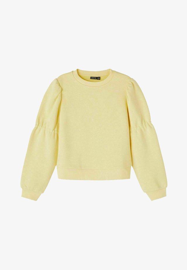 Sweater - mellow yellow