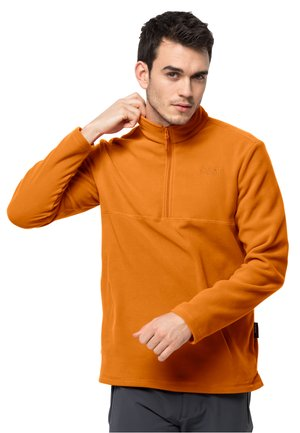 GECKO - Fleece jumper - amber orange