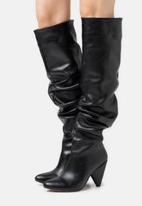 Trendyol - High heeled boots - black - 0