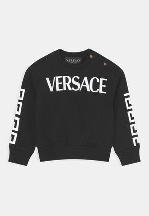 LOGO GRECA UNISEX - Sweatshirt - nero/bianco