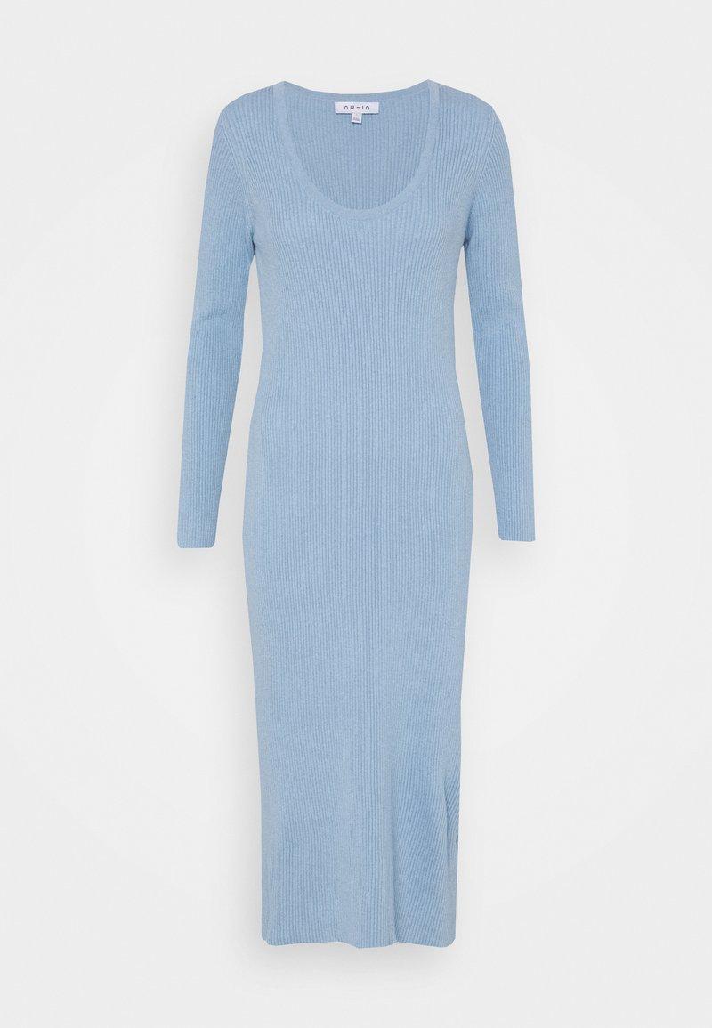 NU-IN - Jersey dress - blue