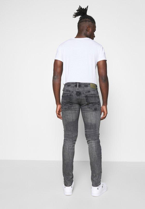 Pepe Jeans HATCH - Jeansy Slim Fit - grey denim/szary denim Odzież Męska ORPA