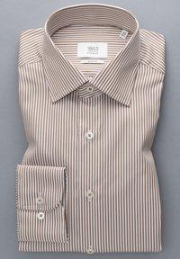 Eterna - SLIM FIT - Formal shirt - beige/weiss - 5