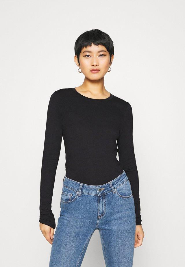 BEA - Long sleeved top - black deep