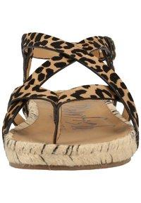Blowfish Malibu - VEGAN GRANOLA - T-bar sandals - sahara leopard 336 - 6