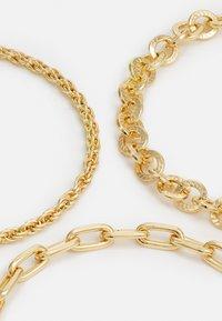 Pieces - PCVILLA 3 PACK BRACELET - Bracelet - gold - 2