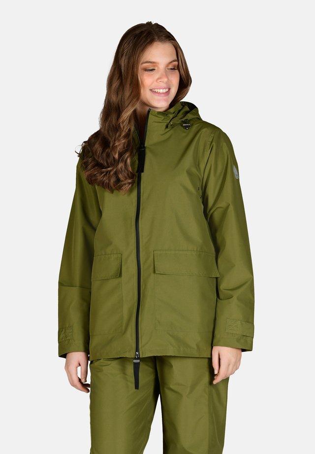 Waterproof jacket - olive