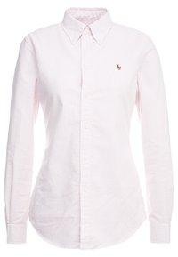 Polo Ralph Lauren - OXFORD KENDAL SLIM FIT - Button-down blouse - pink/white - 0