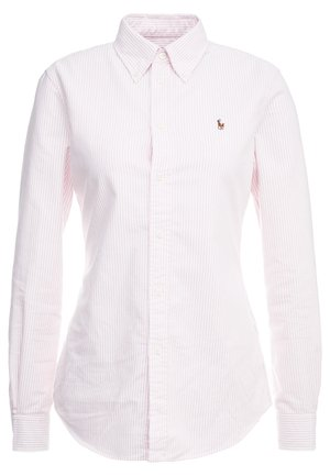 OXFORD KENDAL SLIM FIT - Button-down blouse - pink/white
