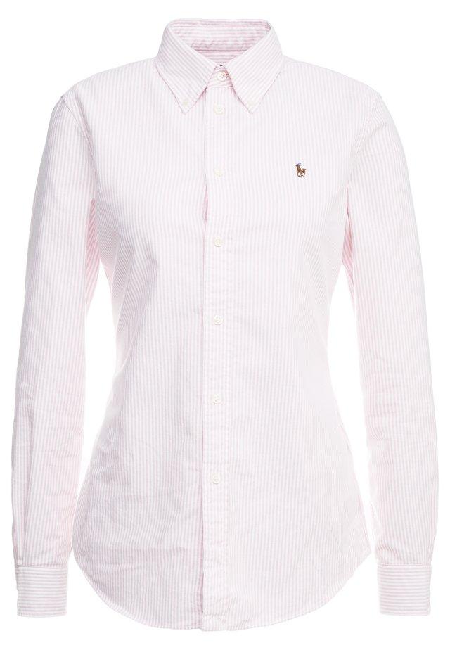 OXFORD KENDAL SLIM FIT - Button-down blouse - pink/white