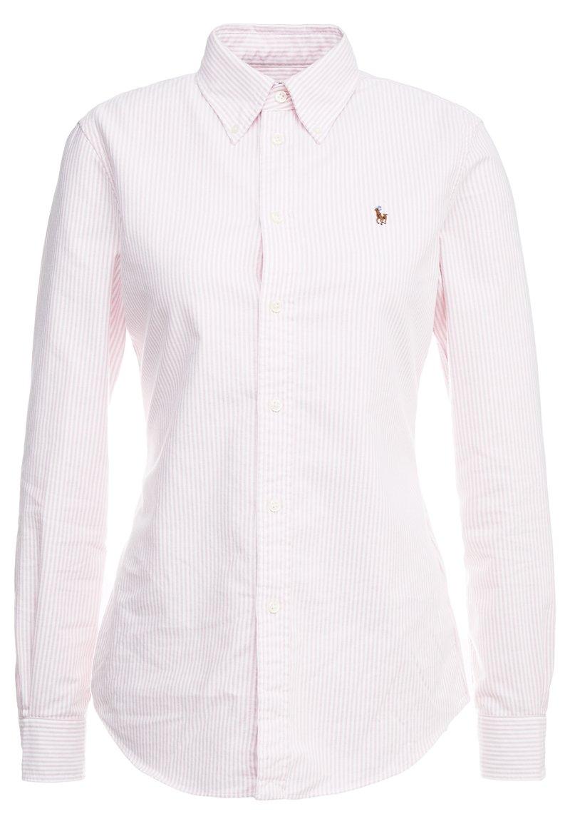 Polo Ralph Lauren - OXFORD KENDAL SLIM FIT - Button-down blouse - pink/white