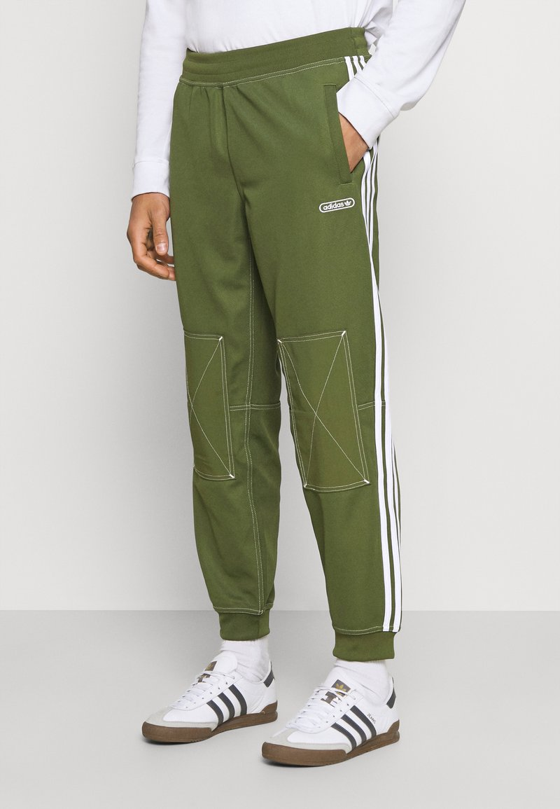 adidas Originals - UNISEX - Tracksuit bottoms - wild pine