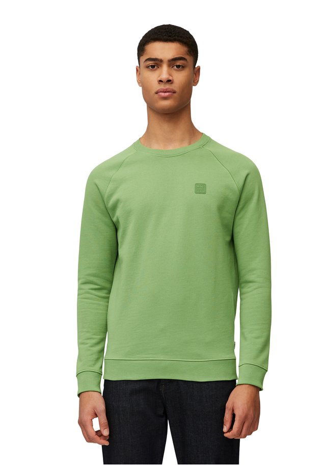 Sweatshirt - dark green, dark green