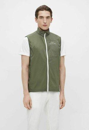 Waistcoat - thyme green