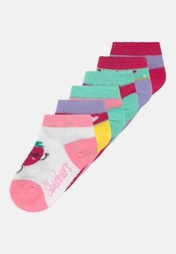 GIRLS SEASONAL 6 PACK - Socks - pink glow