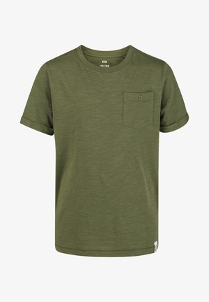 WE FASHION JONGENS T-SHIRT - Basic T-shirt - green