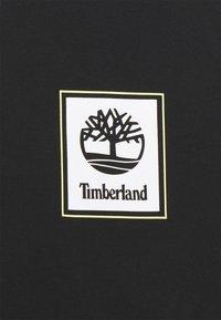 Timberland - SHORT SLEEVES TEE - Triko spotiskem - black - 2