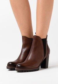 Marco Tozzi - Ankle boots - cognac - 0