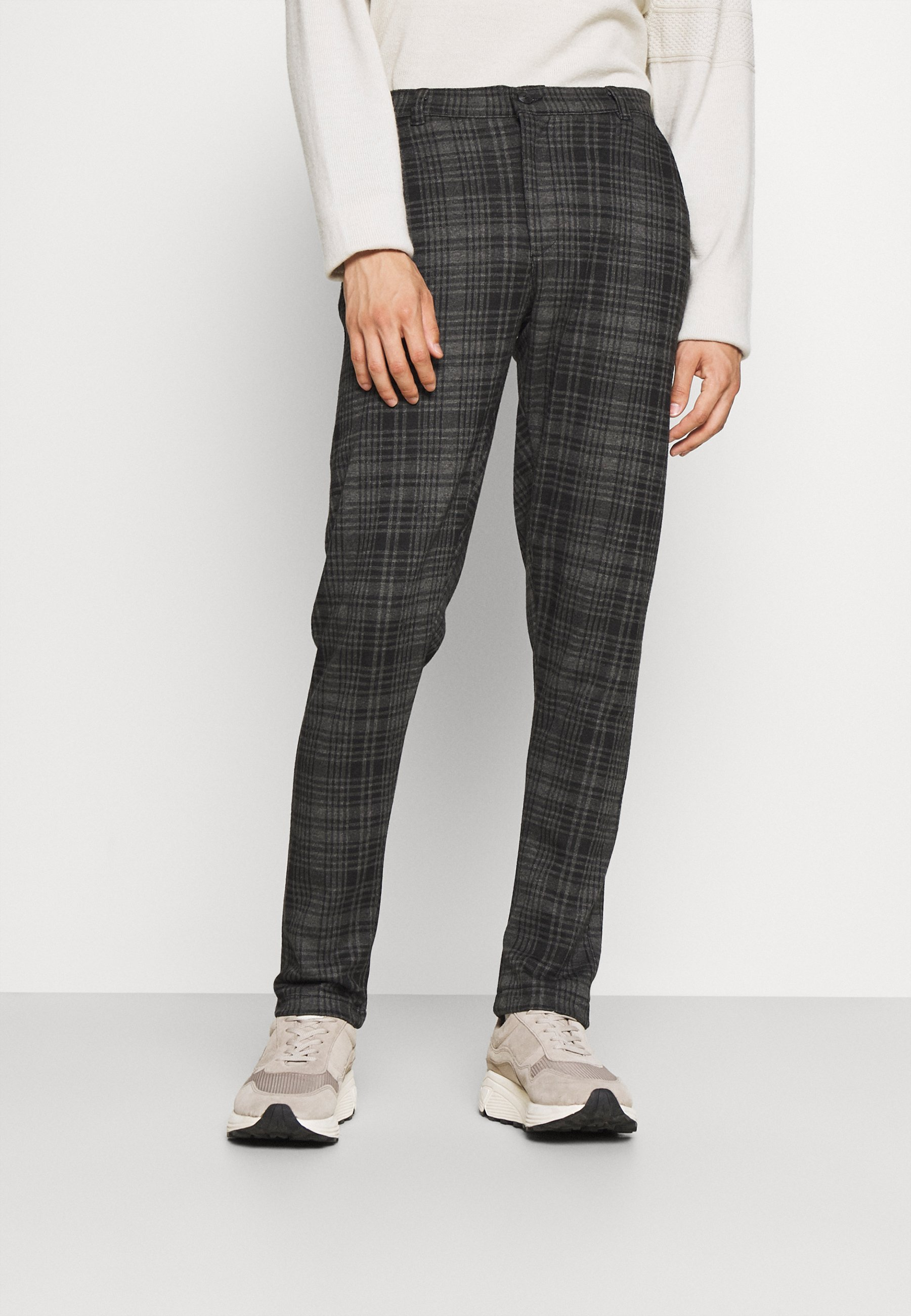 Uomo BARRO CHECK PANTS - Pantaloni