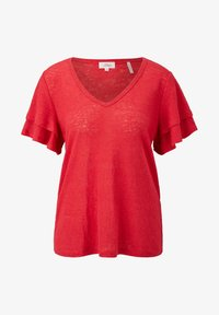 s.Oliver - Print T-shirt - true red - 5